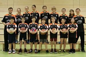 Die Mixed U12 Saison 2015/16