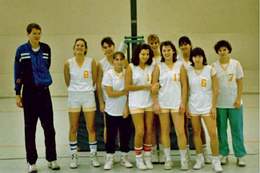 Damenmannschaft 1988