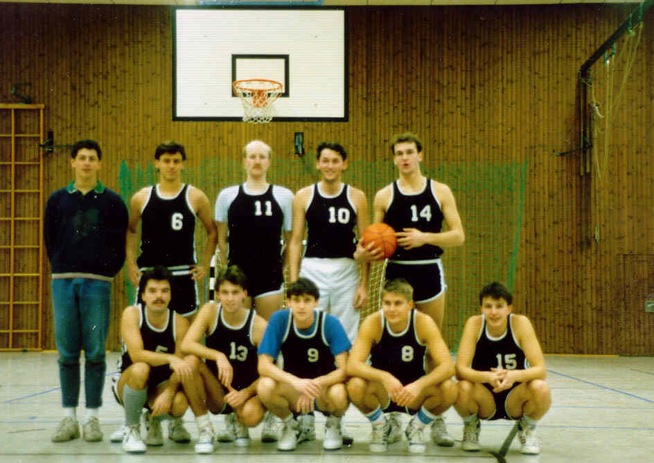 Herrenmannschaft 1988