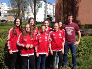 WK.3-Mädchen erreichen den 11. Platz beim Bundesfinale