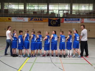 2016 U12 Kinderturnier Baskets