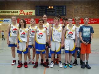2016 U14 Kinderturnier Baskets