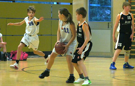 U12-1 - Baskets98 vs. Saints
