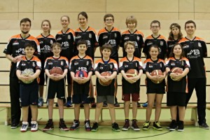 Die Mixed U12 Saison 2015/16