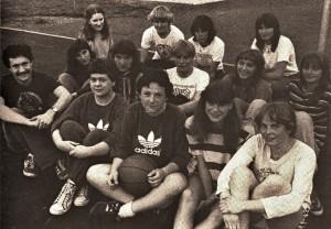 Damenmannschaft 1978
