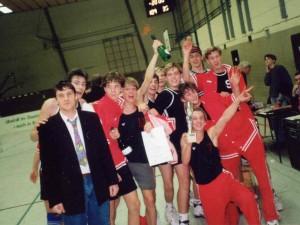 Männliche B-Jugend 1991 Pokalsieg