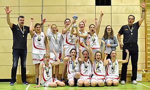 Pokalspiele 2014, Teamfoto Saints WJU15 Pokalsieger